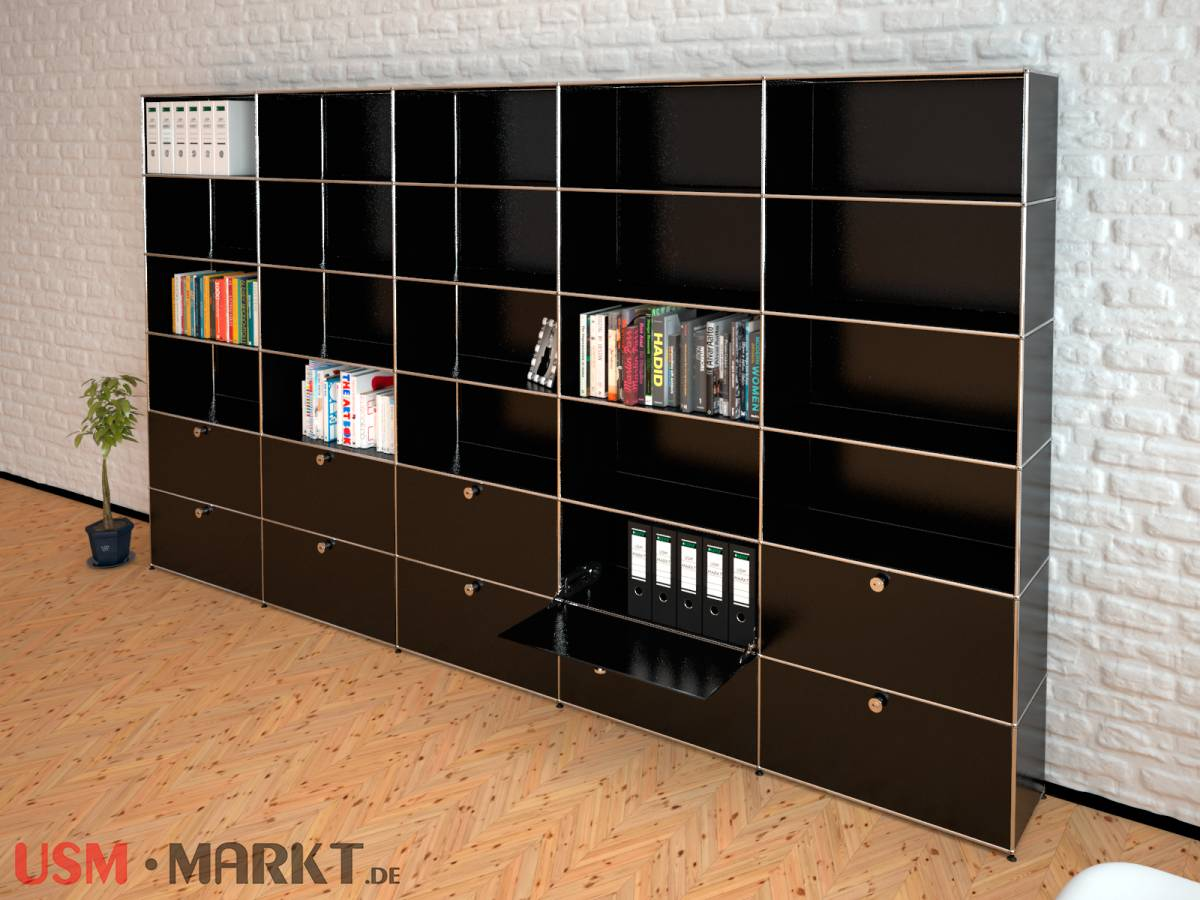 usm haller highboard 5 breit 6 hoch 10 klappt ren usm markt. Black Bedroom Furniture Sets. Home Design Ideas
