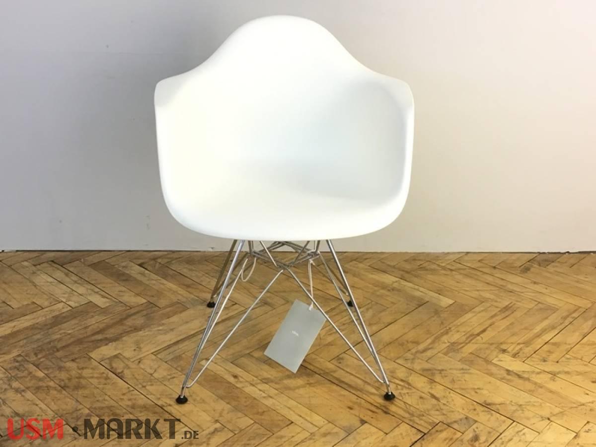 Schon Good Vitra Eames Plastic Chair Dar Gestell Chrom Schale Kunststoff Weiss  Neuwertig With Eames Stuhl Gestell