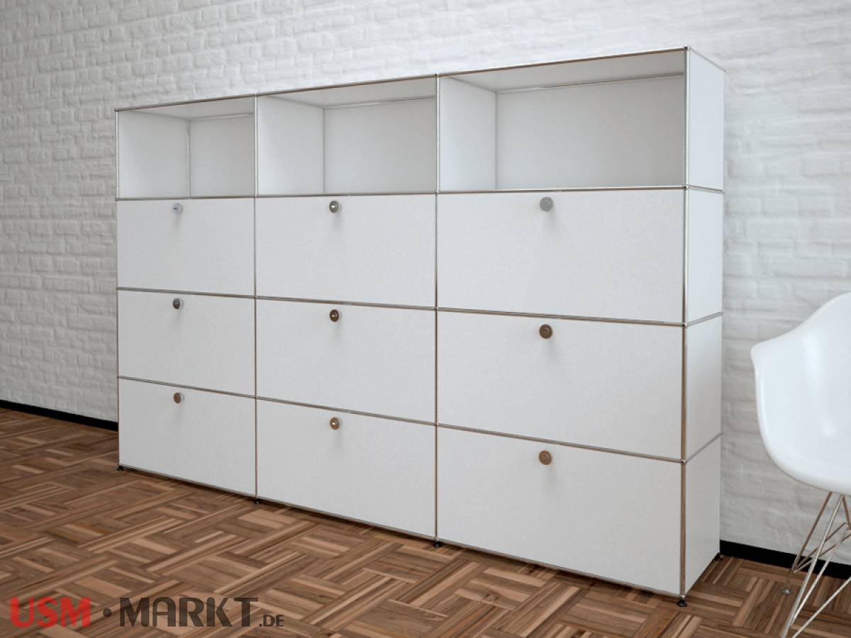 usm haller highboard 3 breit 4 hoch 9 klappt ren usm markt. Black Bedroom Furniture Sets. Home Design Ideas